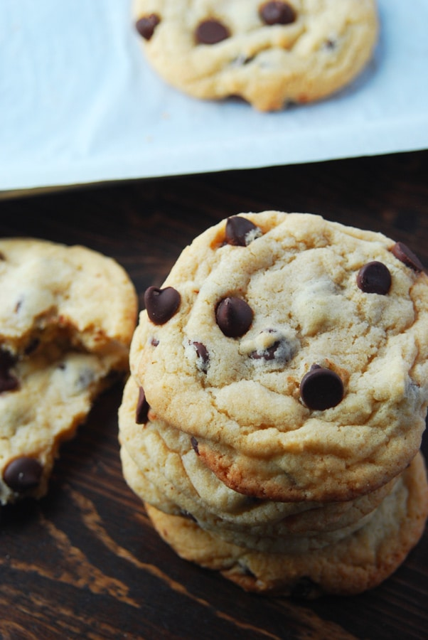 Homemade chocolate chip cookies!