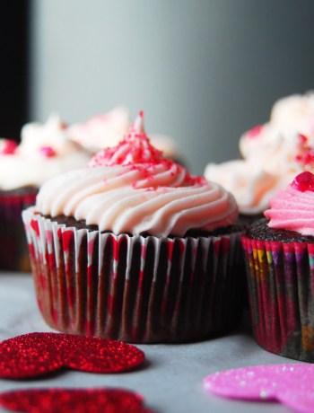 Homemade Chocolate Cupcakes!