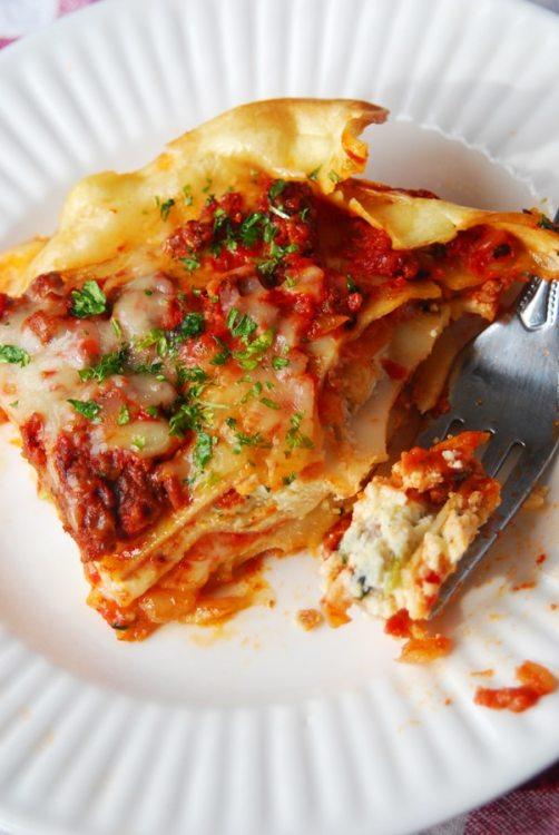 the best homemade lasagna • longbourn farm