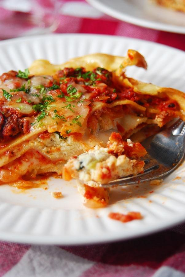 The Best Homemade Lasagna!