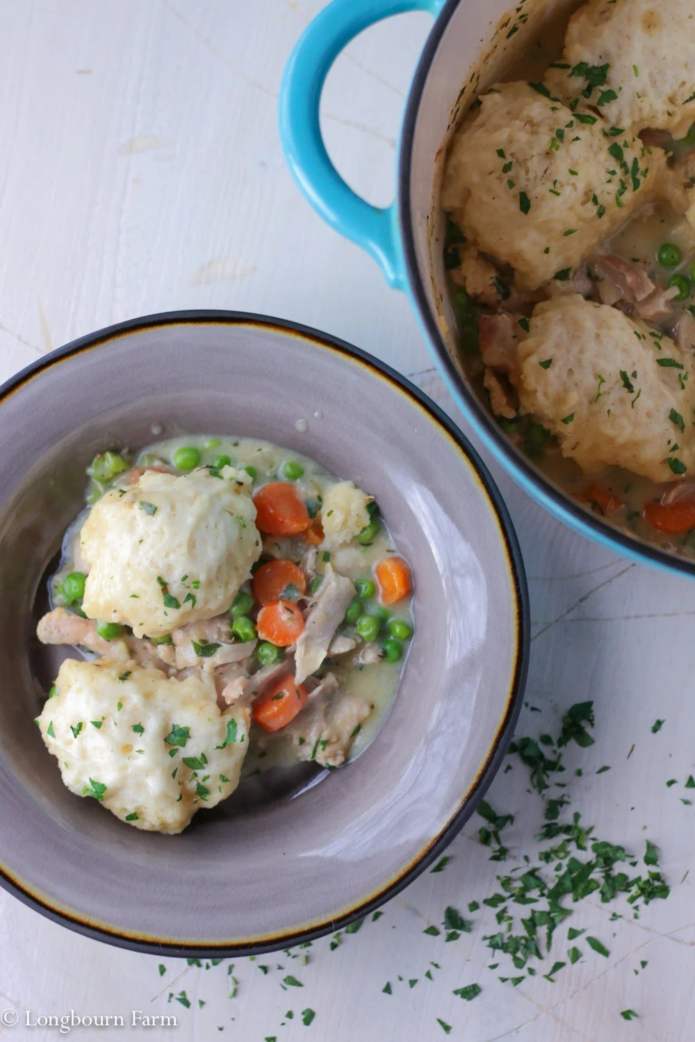 Easy Chicken and Dumplings!