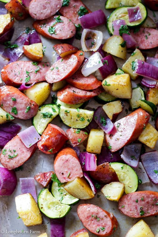 Sausage One Pan Dinner!