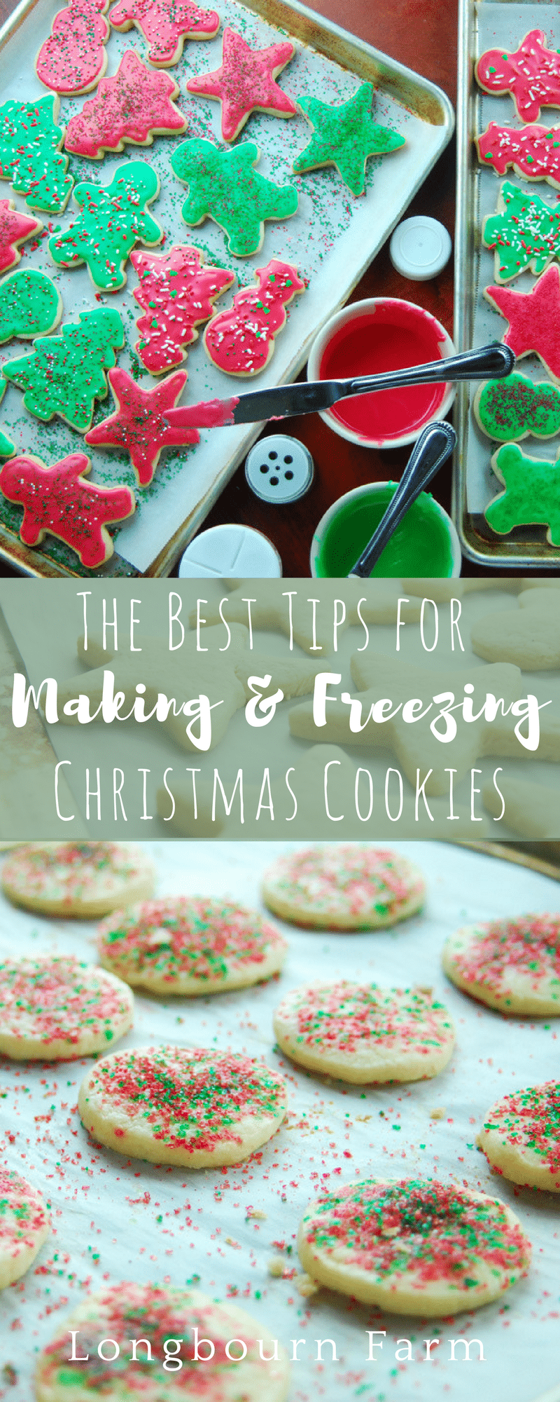 Get tips for making, storing, and freezing the best Christmas cookie recipes! These tips make getting ready for any family Christmas party a breeze!