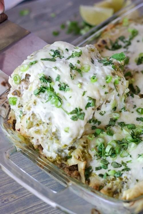 Easy Pork Enchiladas!
