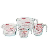 4-Piece Glass Measuring Cups