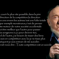 Citation du jour ~ Albert Jacquard