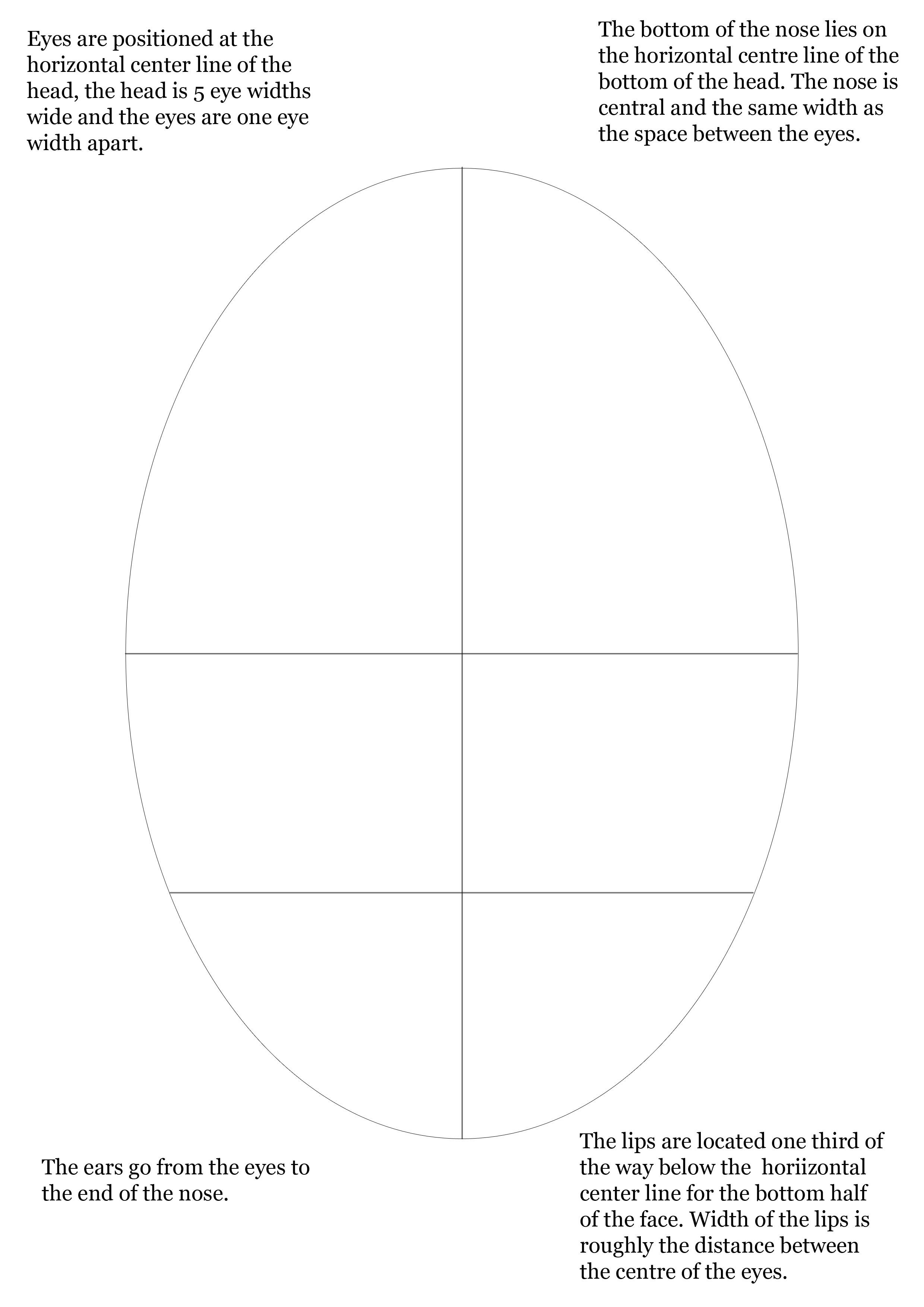Proportional Drawing Jacob Longcake