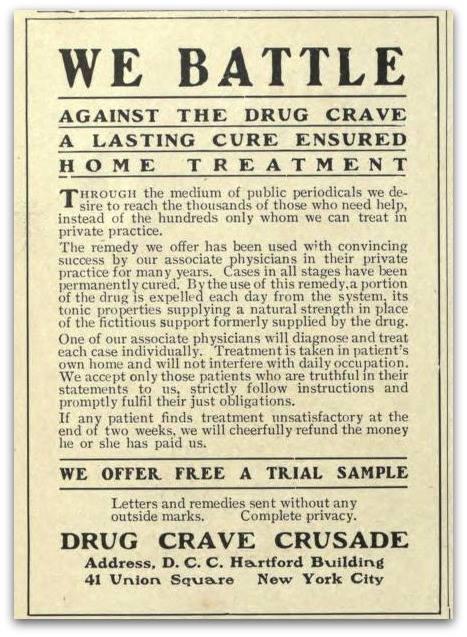 WE BATTLE THE DRUG CRAVE