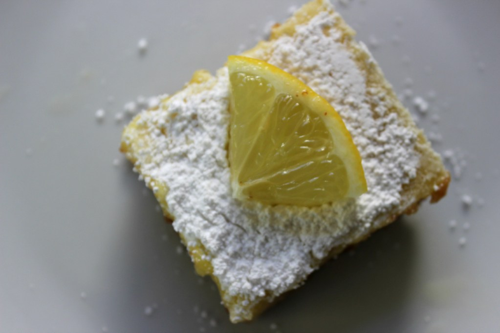 Limoncello Graham Cracker Bars