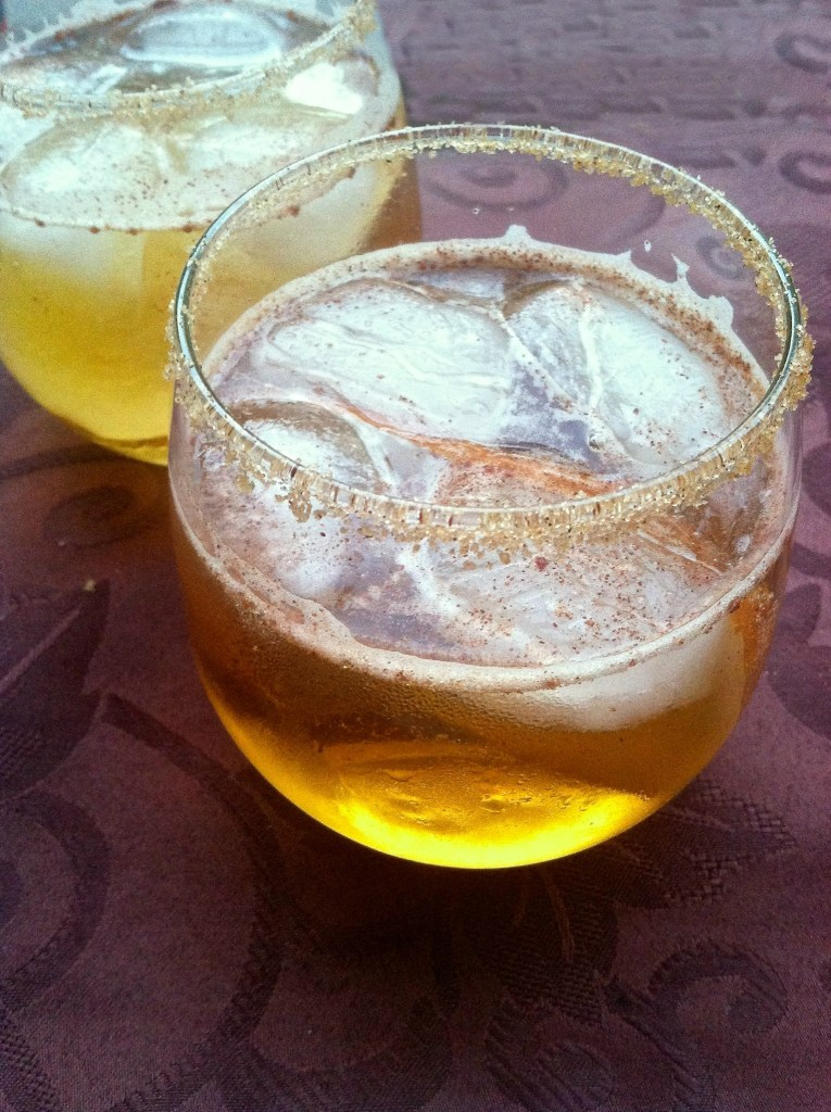 Pear Whiskey Ginger | longdistancebaking.com
