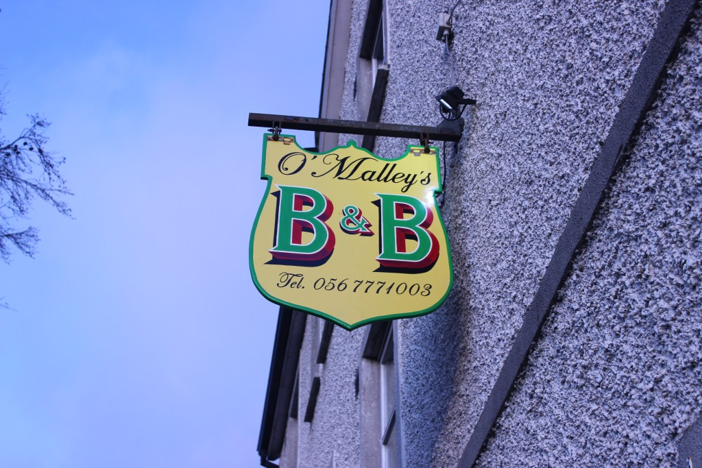 Our B&B in Kilkenny.