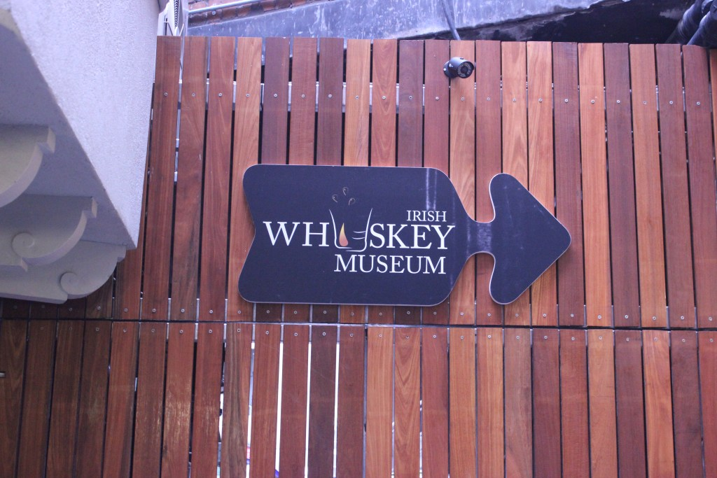 We went whiskey tasting at the Whiskey Museum in Dublin.