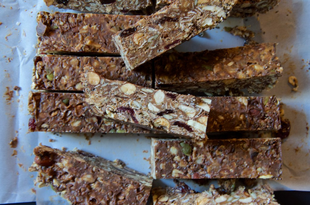 Homemade Loaded Granola Bars