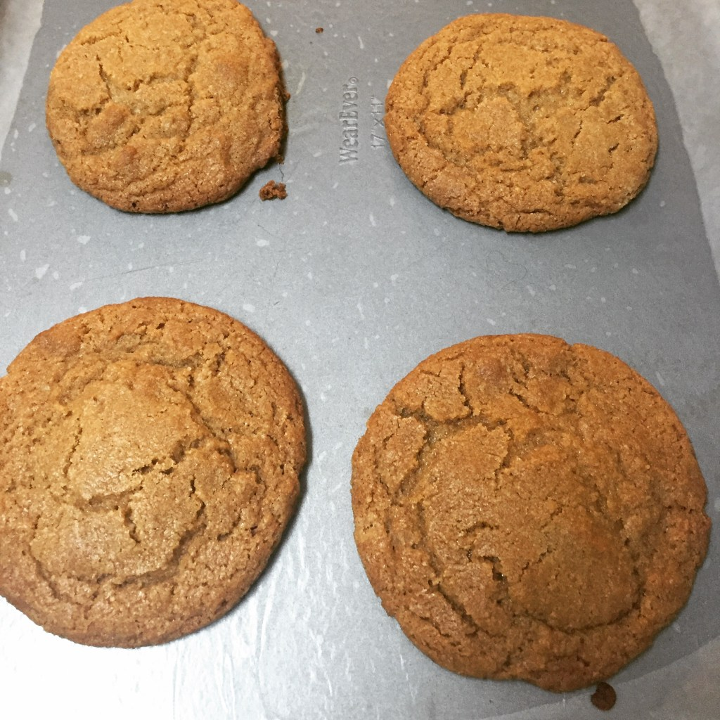 Browned Butter Graham Cracker Cookies