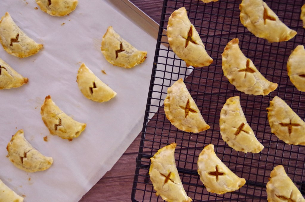 Sweet & Savory Harry Potter Pumpkin Pasties