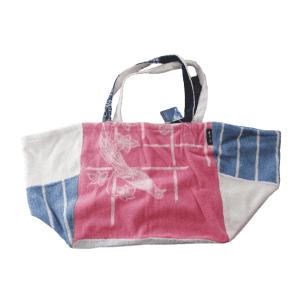 Sac de plage 100% Upcyclé « Bird Bag » modèle unique
