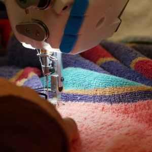 upcycling de serviettes à ponchos