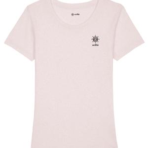 PRÉCOMMANDE : Tee-shirt Femme Carnac Longe Côte Rose, Anfibi
