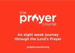 Graphic showing the prayer course logo and web site www.prayercourse.org