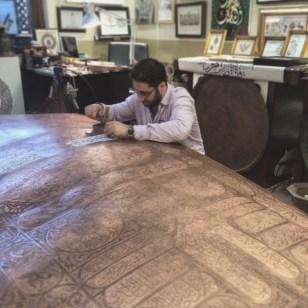 Master calligrapher/engraver