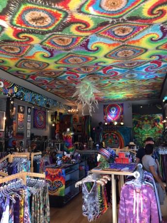 Hippy shops on Haight Street