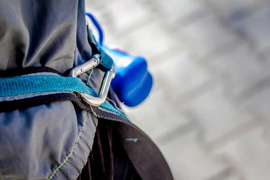 Close shot of the Quantum leash.