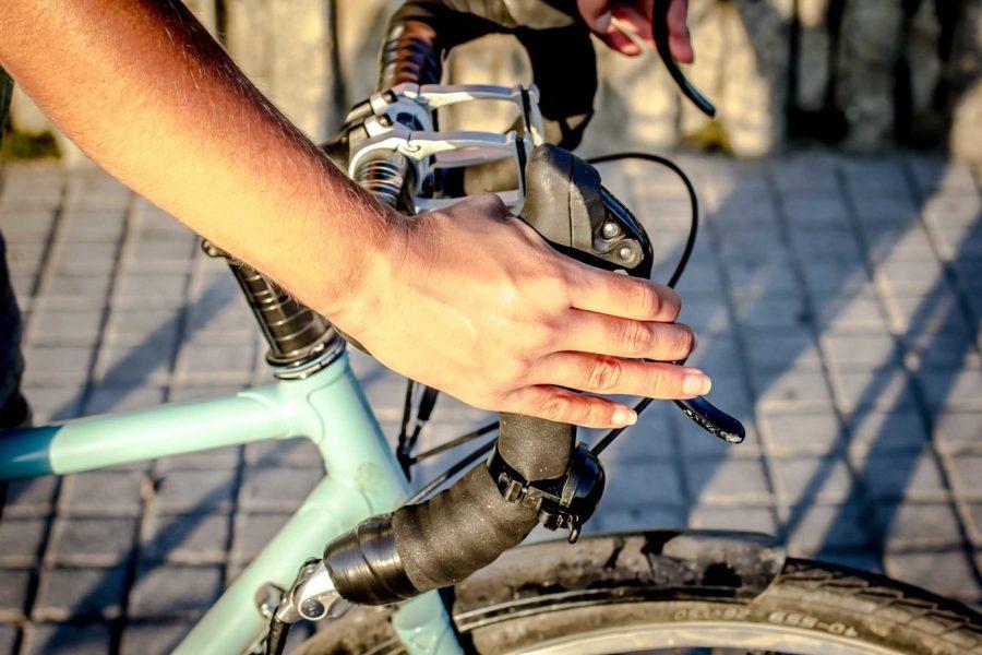 Handlebars for women's touring bike