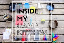 Inside My Camp Kitchen