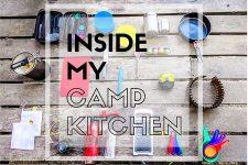 Inside My Camp Kitchen