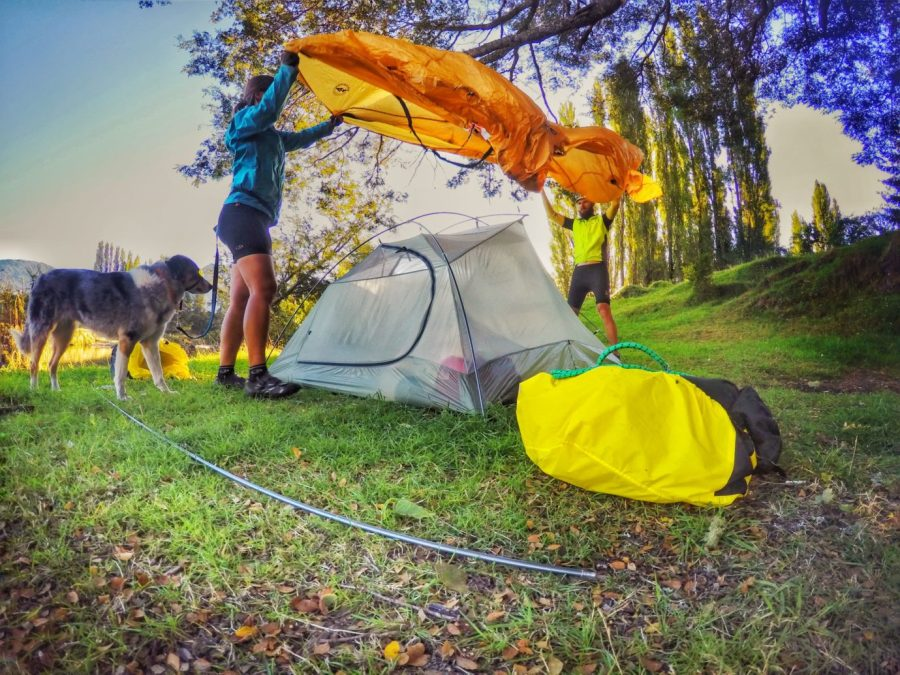How to Cycle Tour with a Dog | Purchase a three-person tent | Long Haul Trekkers