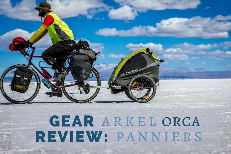 Gear Review: Arkel Orca Panniers | Long Haul Trekkers