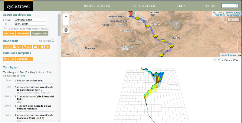 Offline Mapping Tools for Cycle Touring - Cycle.Travel Screenshot