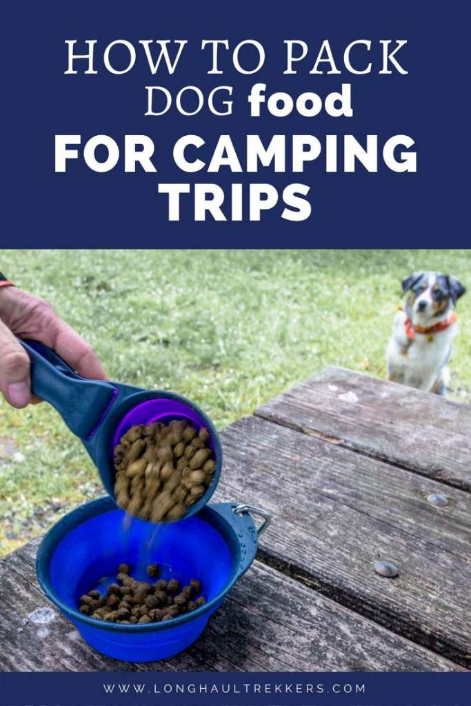 How to Pack Dog Food for Travel