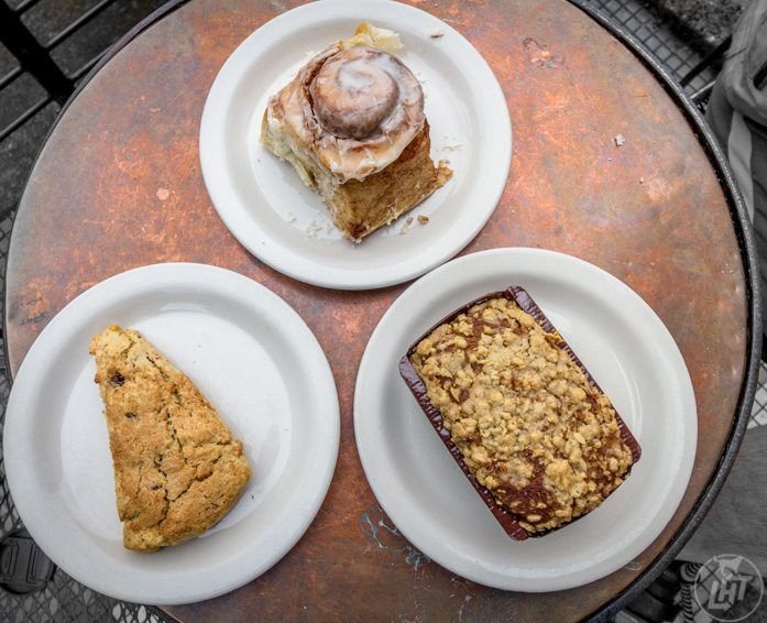 Sweet Life Patisseries in Eugene, Oregon. Vegan, gluten free bakery.   Long Haul Trekkers