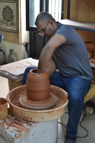 Jordan handicrafts pottery