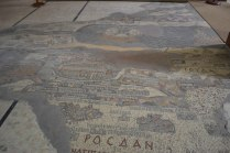 St George mosaic map Jordan
