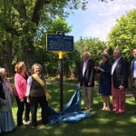 Historic Marker Dedicated in East Hampton for Mae Groot Manson