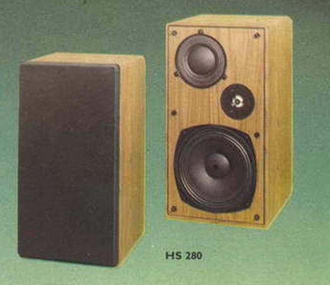 HS280 papír középsugárzó