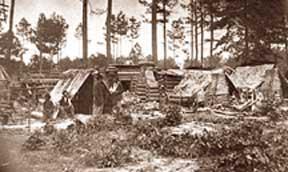 Photo of encampment