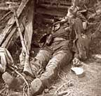 Dead Union soldier