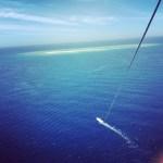 無人島のチービシでパラセーリングはこれ以上にない絶景でした!