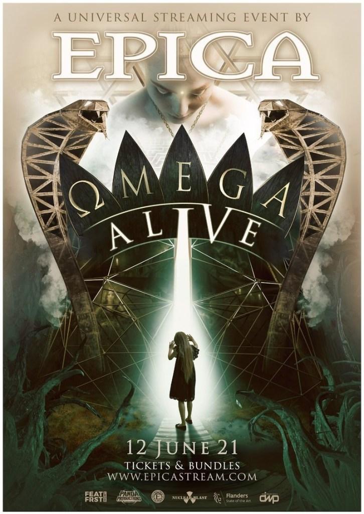Epica Omega alive livestream concert