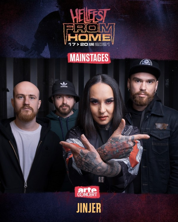 Jinjer Hellfest from Home