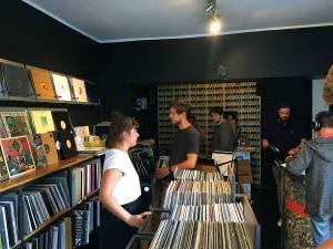 Vienna record shop Das Market