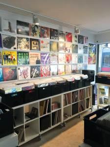 Vienna record shop Schallter