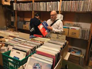 Vienna record shop Scout