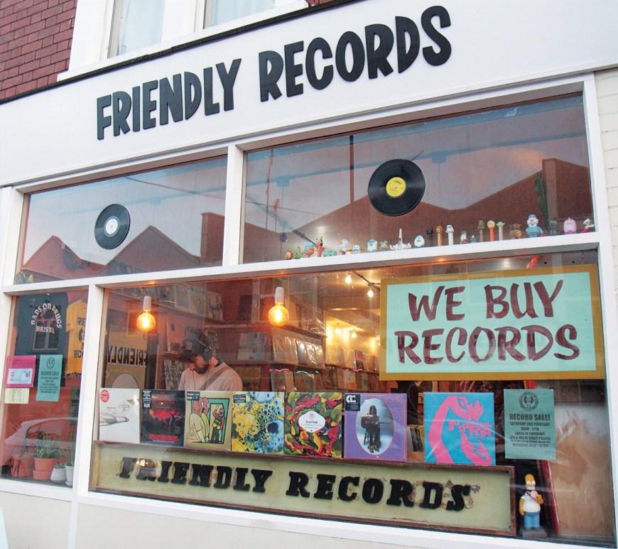 Friendly Records Bristol