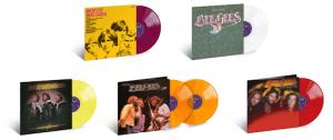 Bee Gees Reissue Coloured Vinyl