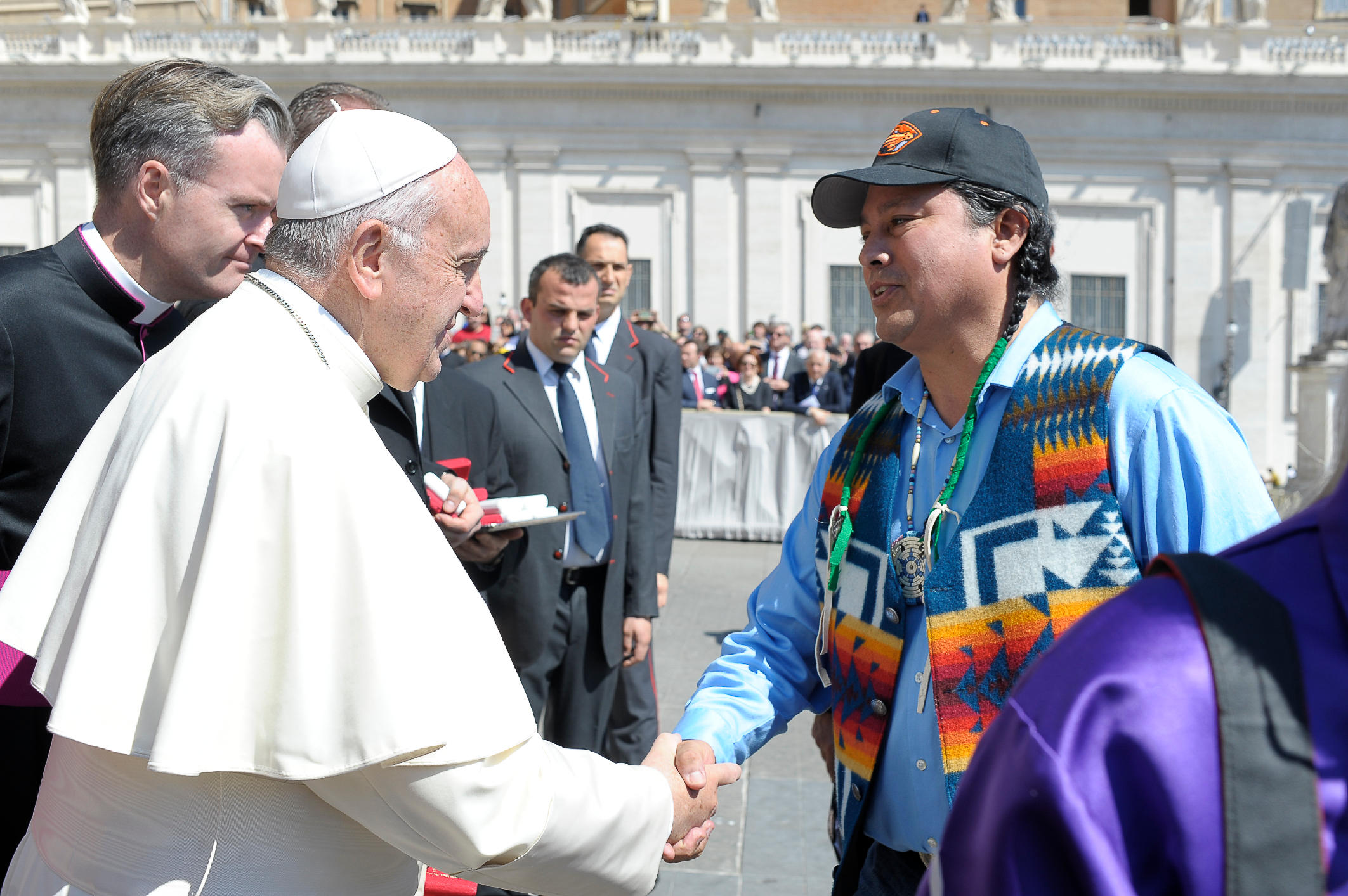 David Close & Pope Francis