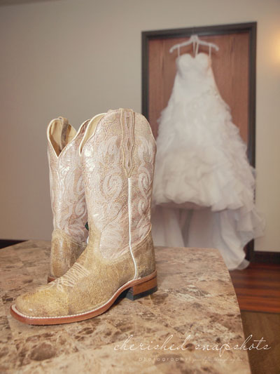 Sexiest Wedding Shoes Longmeadow Event Center--boots1
